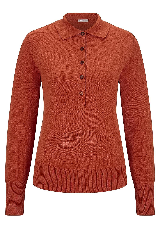 RABE Damen Pullover mit Knopfleiste
