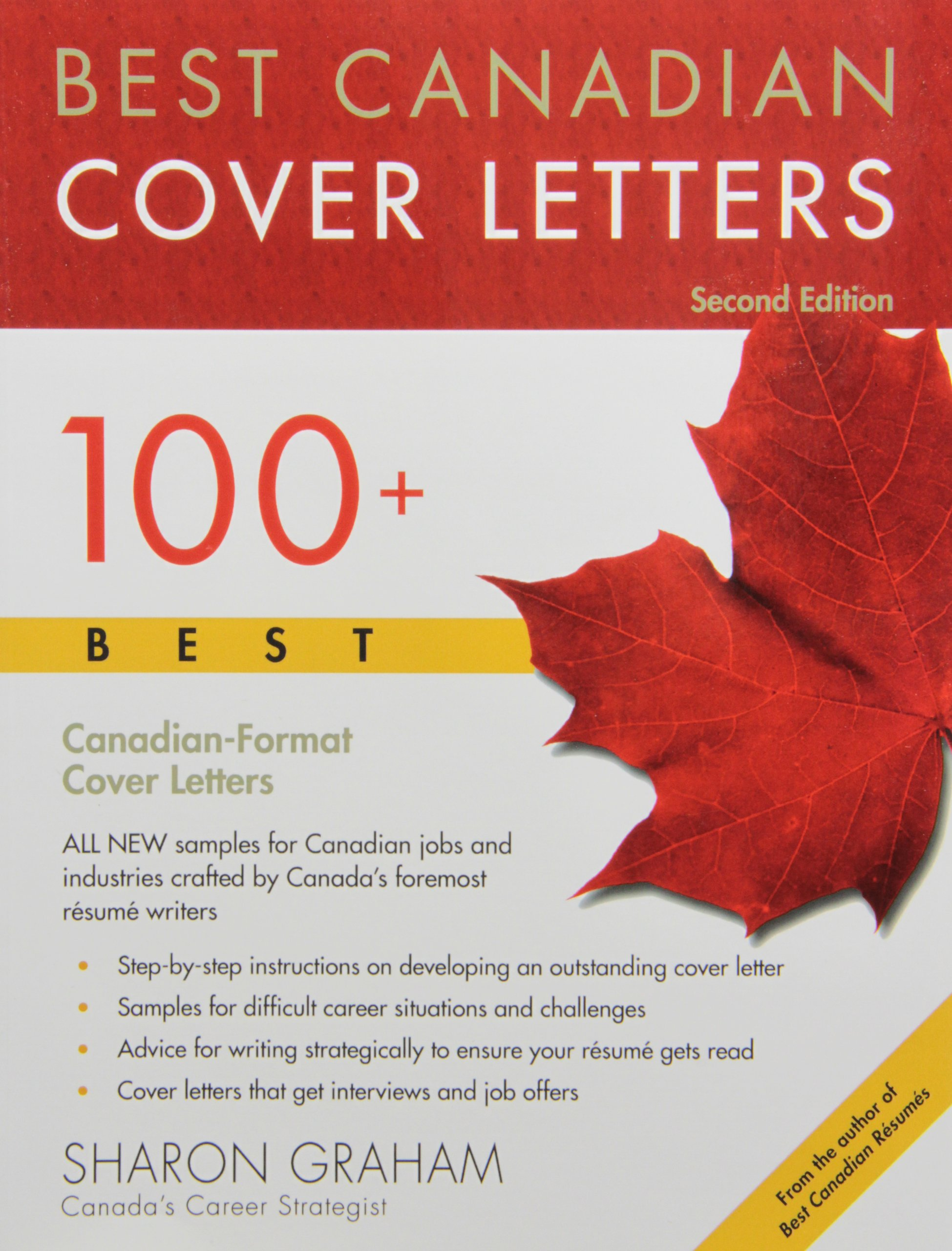 Best Canadian Cover Letters: 100+ Best Canadian-Format Cover Letters ...