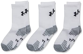 Under Armour UA Heatgear Tech Crew Pack de 3 Pareas Calcetines, Hombre: Amazon.es: Deportes y aire libre