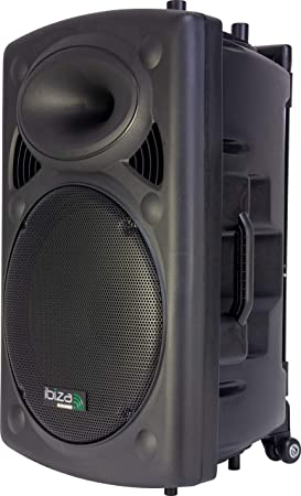 Ibiza Sound PORT15UHF-BT - Megafonía portátil, 15 pulgadas, color ...
