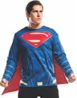 Rubie's Men's Batman v Superman: Dawn of Justice Superman Costume Top