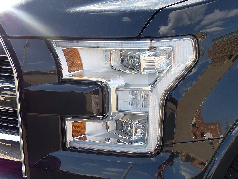 Amazon Com  Ford F  Left Driver Led Headlight Lamp Xenon Housing Oem Flzf Automotive