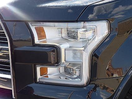 Led Headlights For F150 >> Amazon Com 2015 Ford F 150 Left Driver Led Headlight Lamp