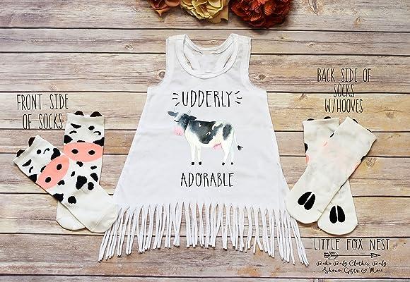 Cow Dress, Farm Dress, Farm Birthday, Udderly Adorable