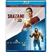 Shazam! & Aquaman (Blu-ray 3D) (2-Disc)