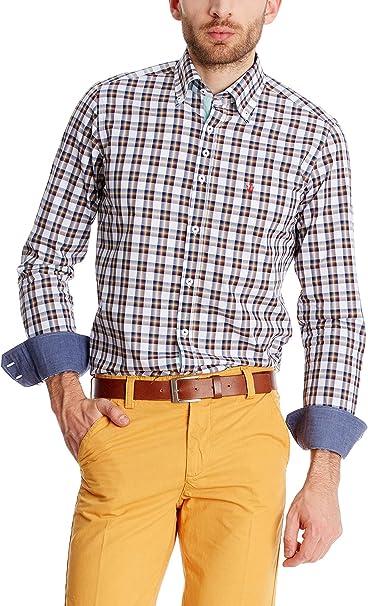 Macson Camisa Hombre Multicolor 41 cm (03): Amazon.es: Ropa y ...