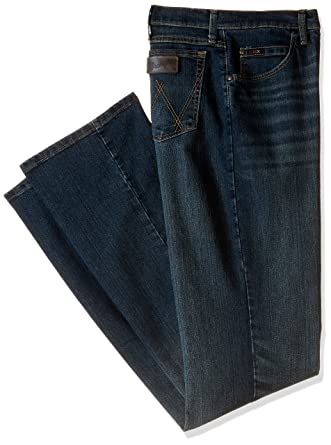 48363ea9 Amazon.com: Wrangler Men's Tall 20X Advanced Comfort Competition Slim Fit  Root Beer Jean: Clothing