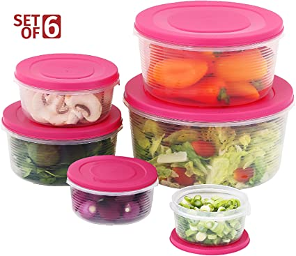 Amazoncom Mixing Bowl Set with Lids Kitchen Food Storage