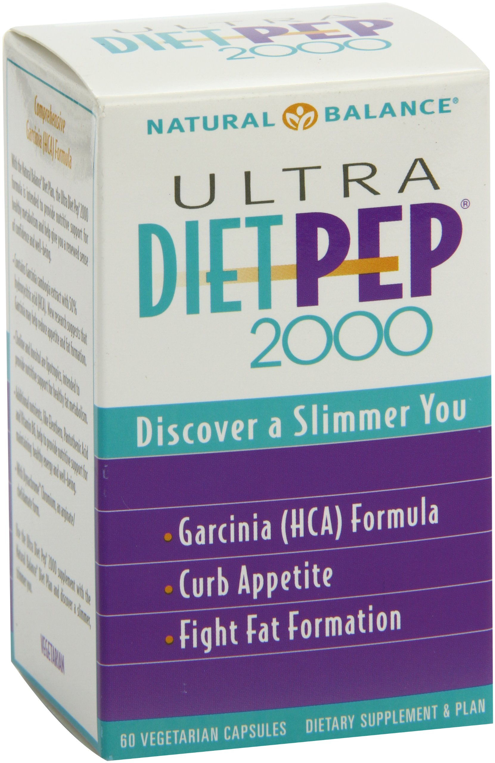 Natural Balance - Ultra Diet Pep 2000 60 Capsules by Natural Balance