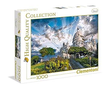Clementoni - Puzzle de 1000 Piezas Montmartre (39383): Amazon.es: Juguetes y juegos