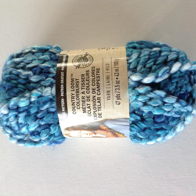 Amazon.com: Loops & Threads Country Loom Colorburst Yarn, 1 Ball ...