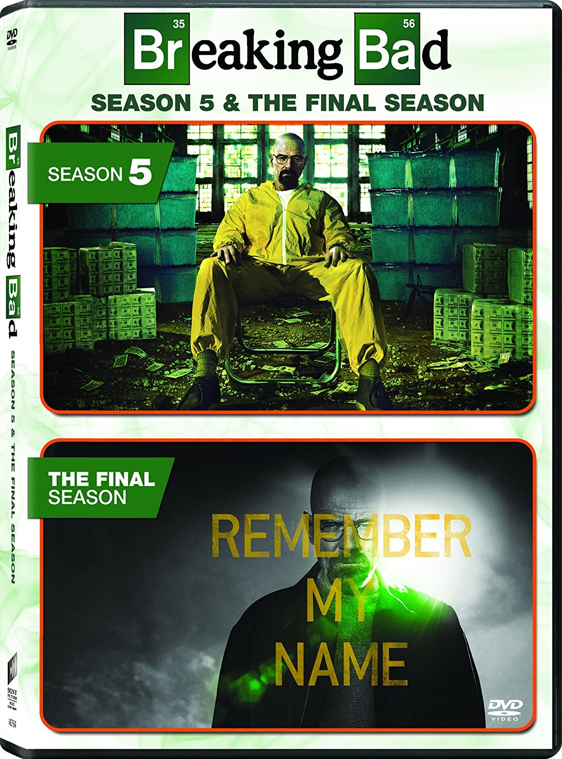 Breaking Bad: Final Ssn / Breaking Bad: Ssn 5 Edizione: Stati Uniti Italia DVD: Amazon.es: Cine y Series TV