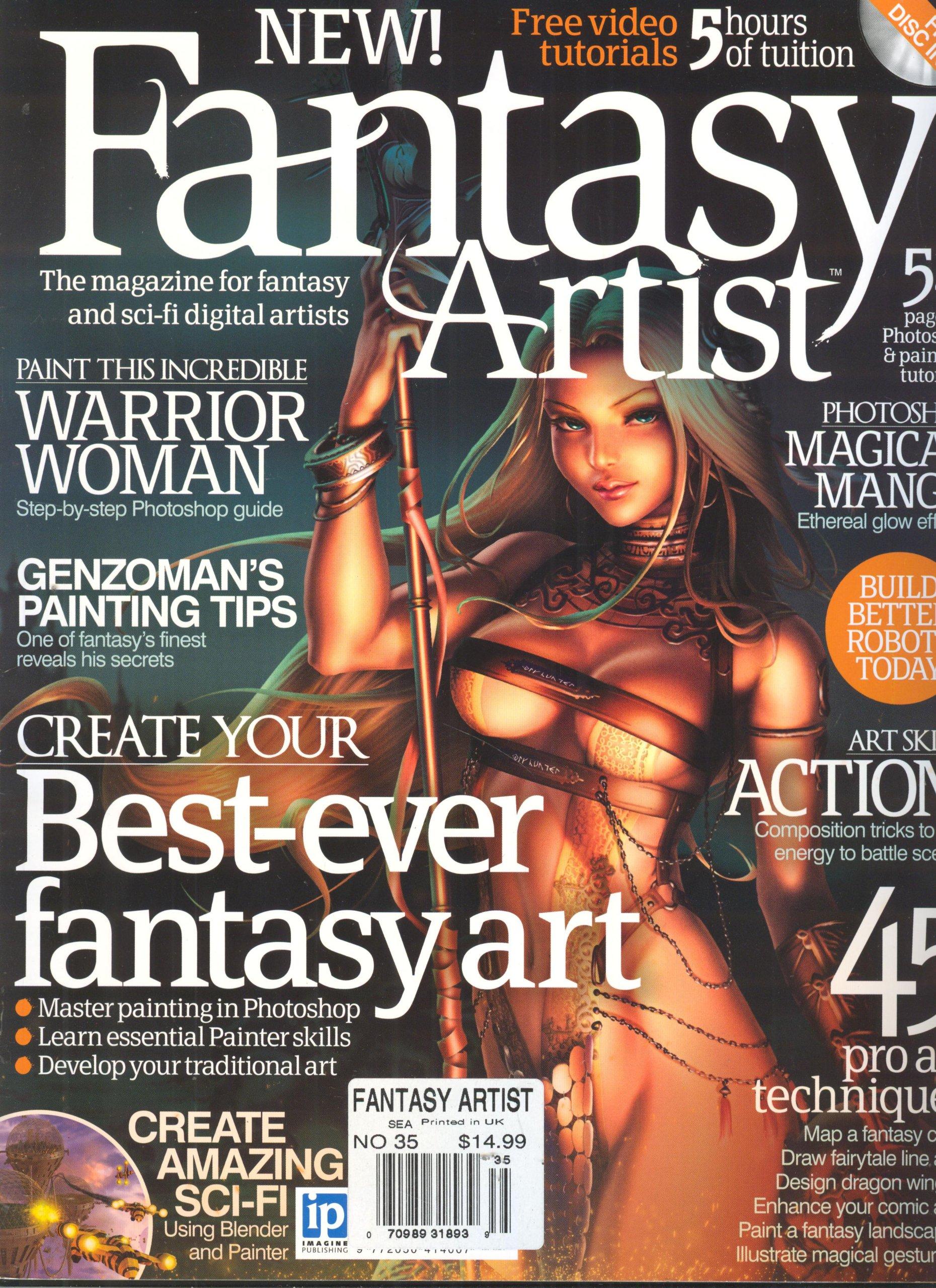 Fantasy Artist Magazine Issue 35 Various Amazon Com Books