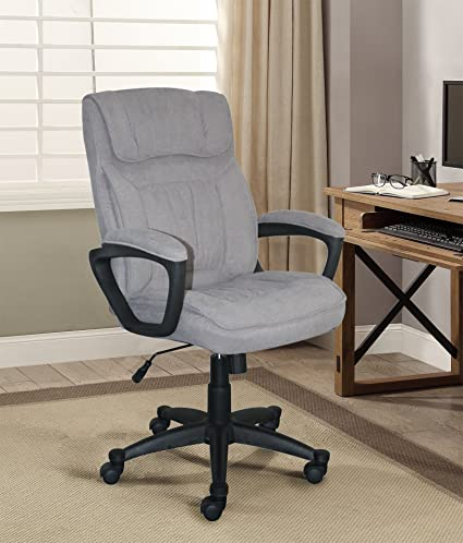 amazon com serta style hannah i office chair microfiber light