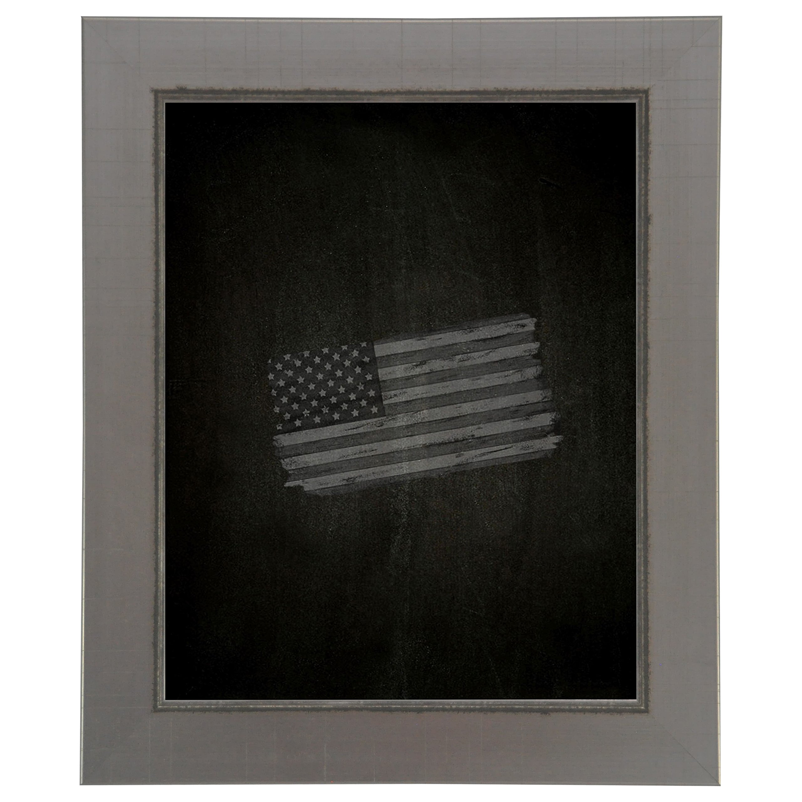 Rayne Mirrors American Made Rayne Silver Swift Blackboard/Chalkboard Exterior Size: 29 x 47 by Rayne Mirrors