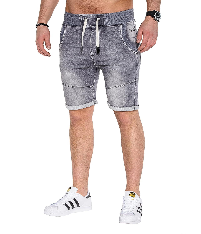BetterStylz Herren Jeans Shorts Jogg Jeans Shorts Bermuda