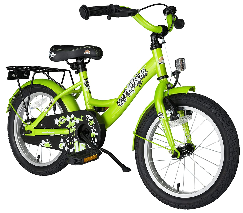 bike*star 40.6cm (16 pulgada) Bicicleta para niños - Clásico - Verde ...