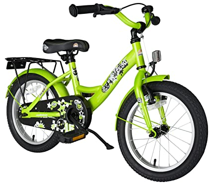 175348071 BIKESTAR Original Premium Safety Sport Kids Bike Bicycle with sidestand and  Accessories for Age 4 Year Old Children