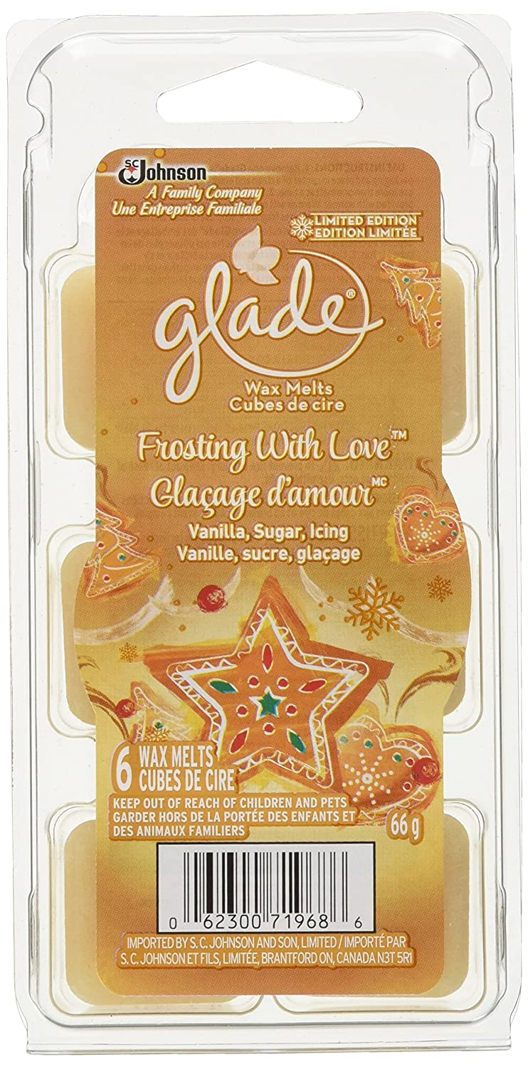 Glade Holiday Wax Melts Refills - Frosting with Love, 6 Count SC Johnson 692780
