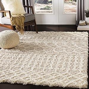 """Artistic Weavers Bohemian/Global Area Rug, 5'3"""" x 7'3"""", Beige"""