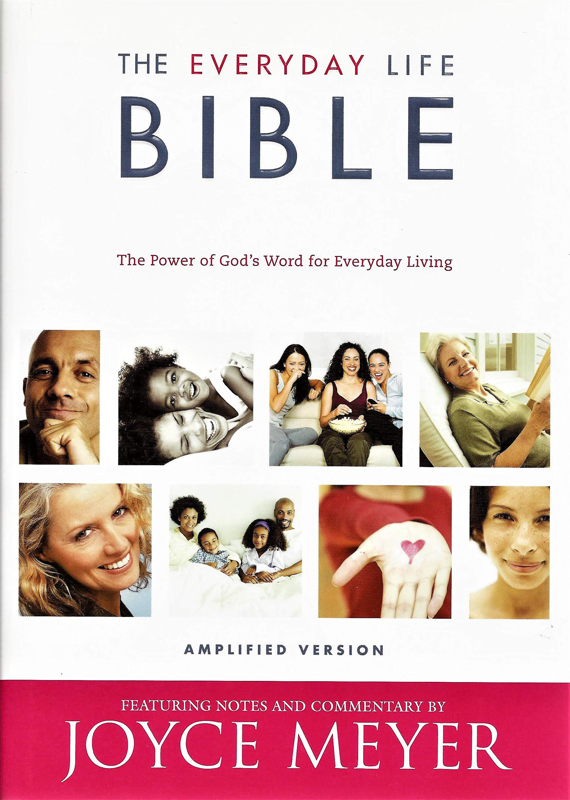 The Everyday Life Bible: Amplified Version: Joyce Meyer