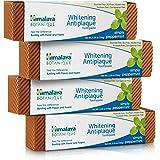 Himalaya Whitening Toothpaste - Simply Peppermint, Natural, Fluoride-Free, SLS Free, Carrageenan-Free & Gluten-Free, 5.29 oz