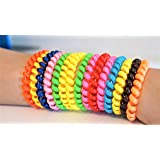 SWIRLY BANDS 10 pack - Fidgeting, ADHD, Autism, Anxiety toy - Sensory and motor aid spectrum mild bracelet autistic