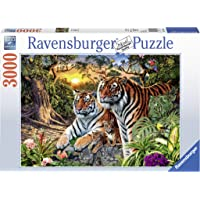 Ravensburger 3000 Parça Puzzle Tiger (170722)