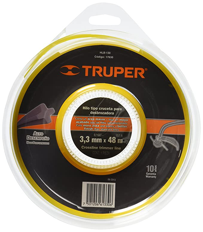 Amazon.com : TRUPER HLB-130 Rounded Strings in Clamshell ...