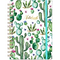 "Ruled Notebook/Journal - Lined Journal, 6.3"" X 8.35"", Hardcover, Back Pocket, Strong Twin-Wire Binding with Premium…"