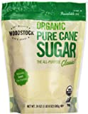 Woodstock Organic Granulated Pure Cane Sugar - 24 oz