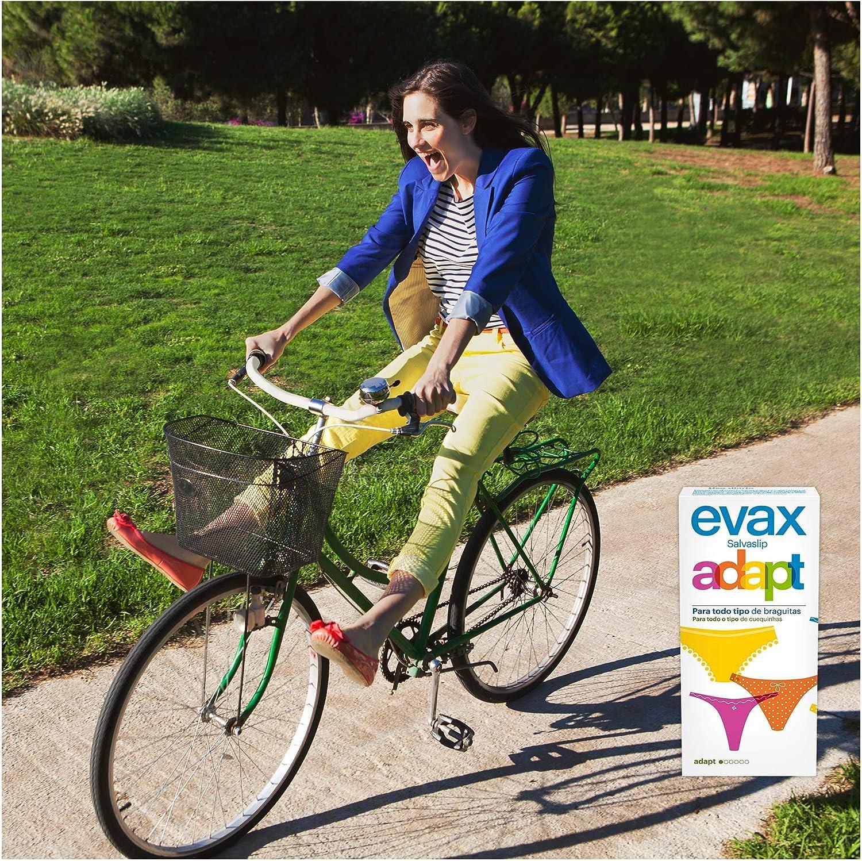 Evax Salvaslip Adapt Protegeslips - 30 unidades: Amazon.es: Salud ...
