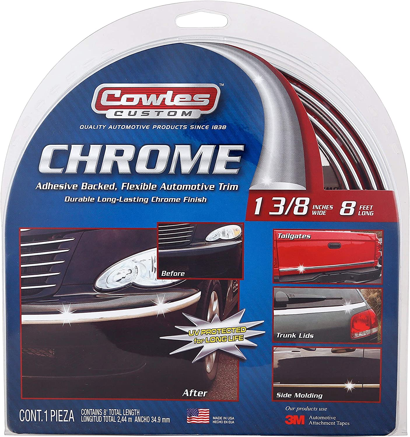 Cowles Products Style Guard Universal Molding S37740