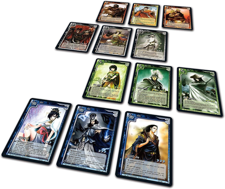 YOKA GAMES - Combinación de 2 Juego de Cartas Conjunto de Sanguosha WTK Versión Estándar y Versión Kingdom Wars Grupo de Juego de Mesa Estratégica Cooperativa Idioma Inglés: Amazon.es: Juguetes y juegos