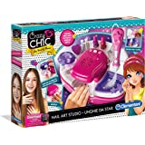 Clementoni  15136 Crazy Chic  - My Beauty World Set, Nail Art Studio