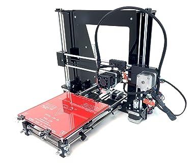 REPRAPGURU Black DIY Prusa I3 3D Printer Kit