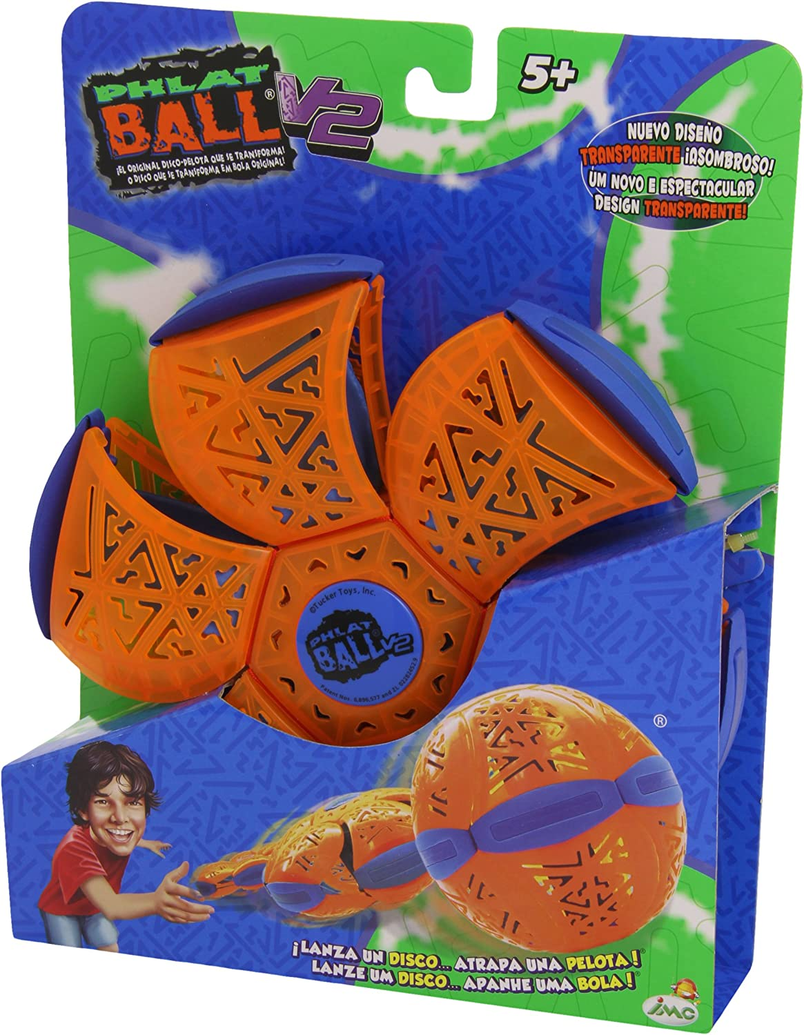 Phlat Ball - Pelota/Disco Volador (IMC Toys 60074): Amazon.es ...