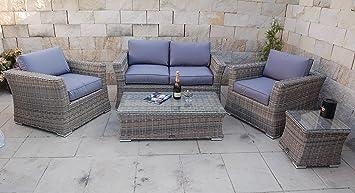 Ragnarök Möbeldesign PolyRattan Lounge DEUTSCHE Marke   EIGNENE Produktion    8 Jahre GARANTIE Auf UV