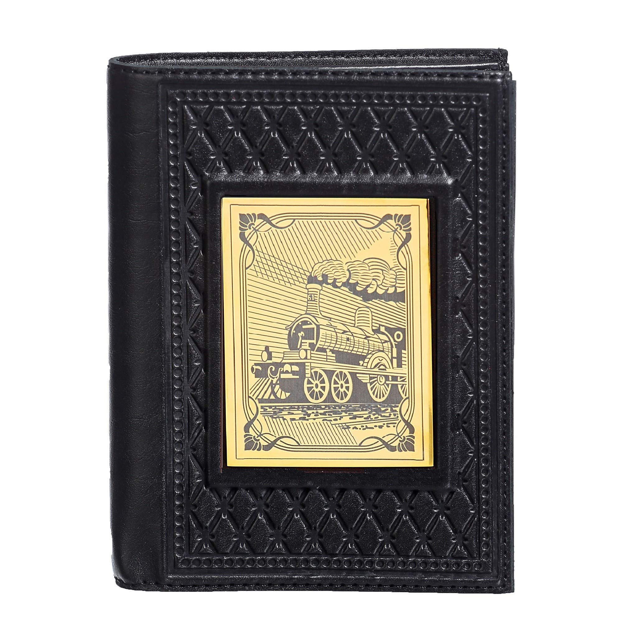 Passport Organizer Wallet Handmade Leather''Railwayman'' 2