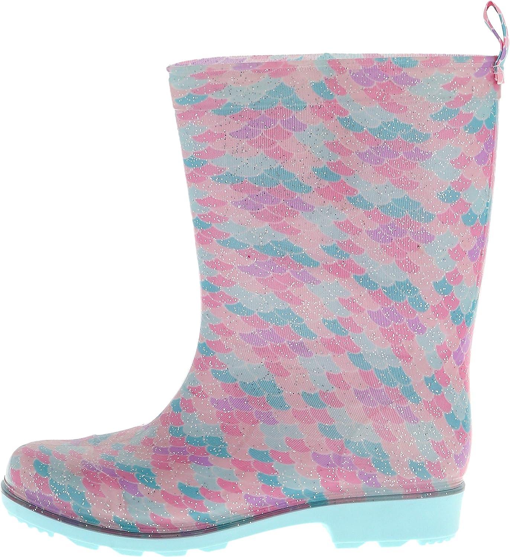 Capelli New York Girls Heart Printed Jelly Rain Boots