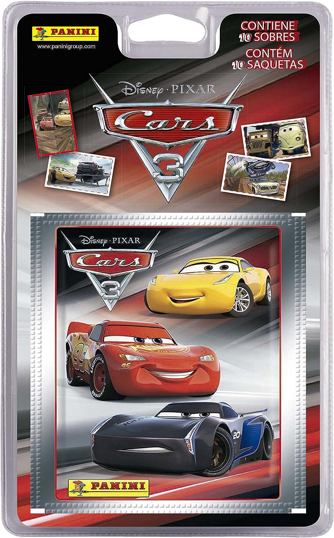 Cars 3- Blíster con 10 Sobres (Panini 003342BLIE): Amazon.es ...