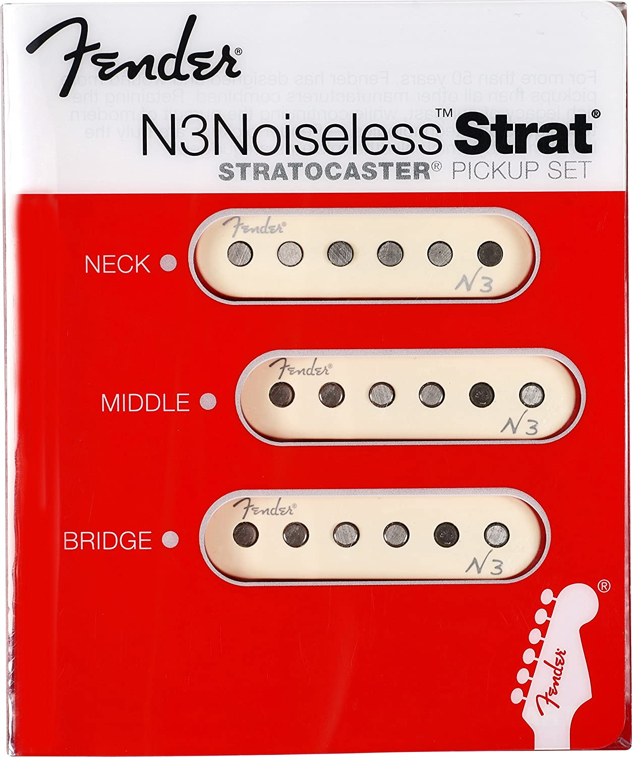 Fender N3 Noiseless Strat Pickups Musical Instruments Tex Mex Pickup Wiring Diagram