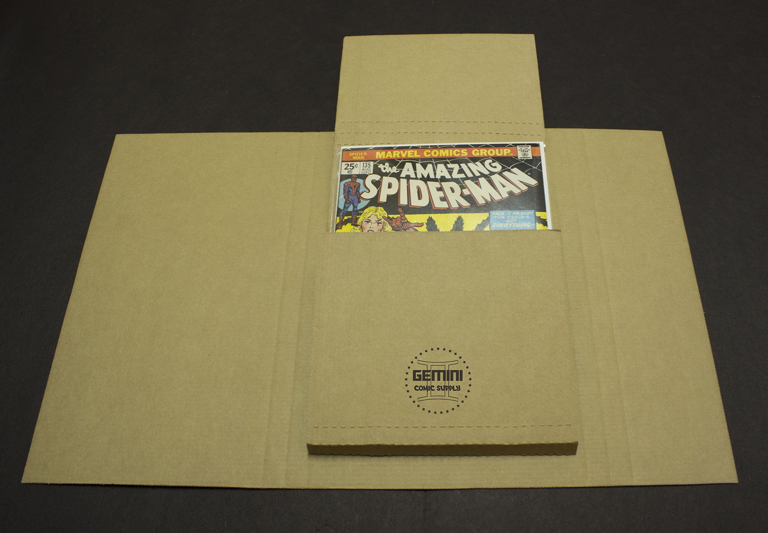 Comic Book Flash Mailers (Fits Most Comic Sizes, TPB's, and Manga Digests)