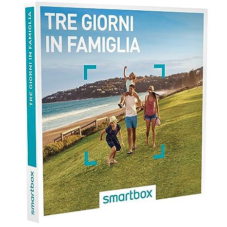 Cofanetto Regalo Per Famiglia Con Bambini.Smartbox Tre Giorni In Famiglia 157 Soggiorni In Famiglia In Agriturismi E Hotel 3 O 4 Cofanetto Regalo