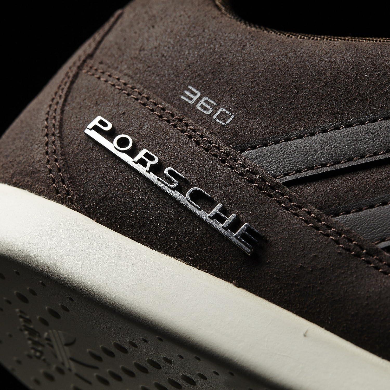 Adidas Originals Porsche 360 Suede Schuhe marron oscuro marron oscuro