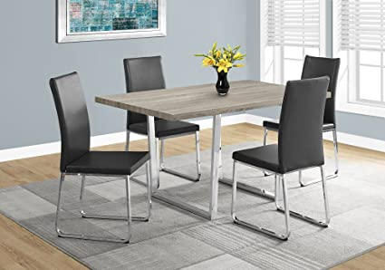 Amazon Com Monarch Specialties I 1121 Dining Table 59 L