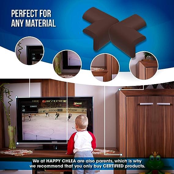 10 Pz - Protector de Esquinas para Bebes y Niños, Espuma Suave Protectores de Seguridad para Mesas Esquina – Esquineras Protectoras Tecnología