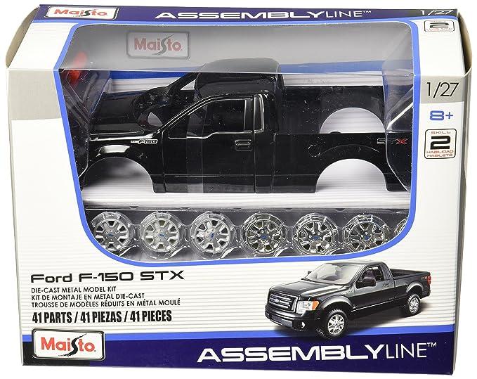 Amazon.com: Maisto 1:27 Scale Assembly Line 2010 Ford F-150 STX ...