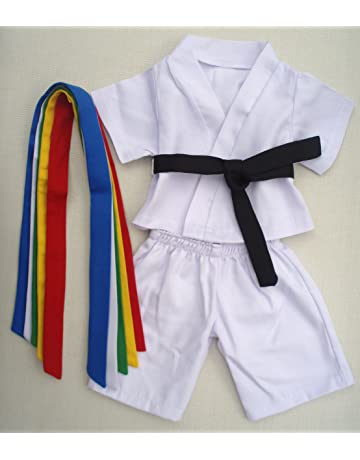 200e0ba70 Karate Uniform Outfit Teddy Bear Clothes Fit 14