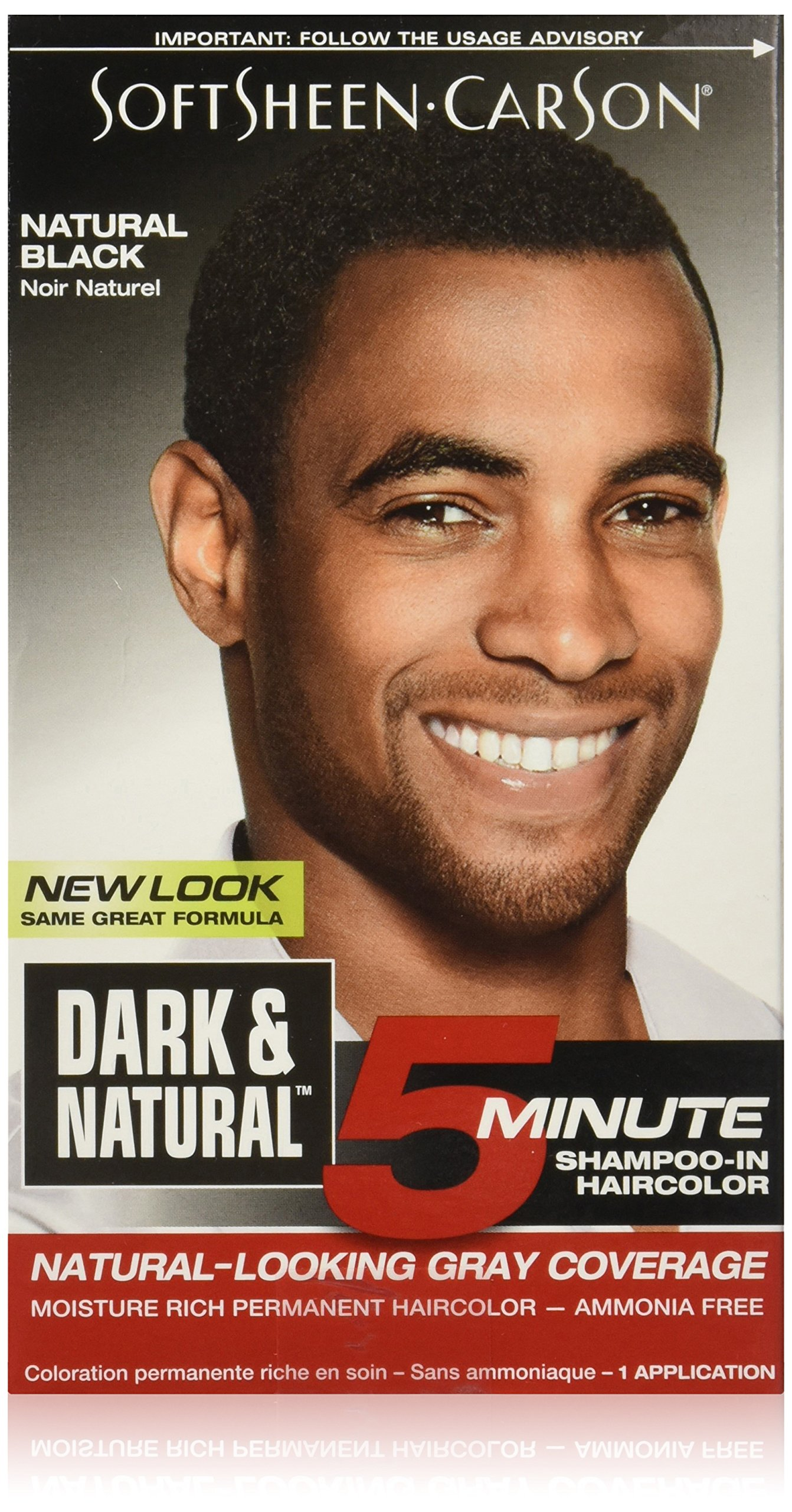 Amazon Hair Color For Men By Softsheen Carson Dark And Natural